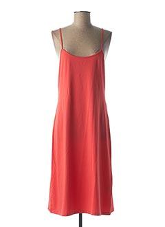 Robe mi-longue rouge CREA CONCEPT pour femme