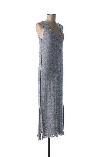 Robe pull bleu CALATURA pour femme