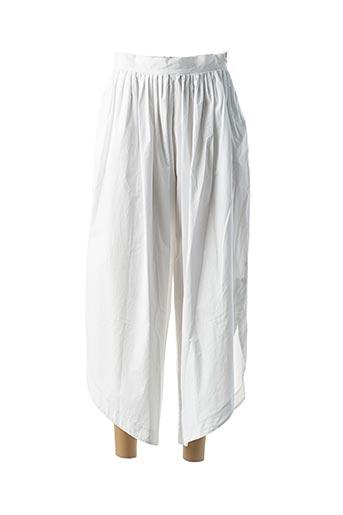Pantalon 7/8 blanc B.YU pour femme