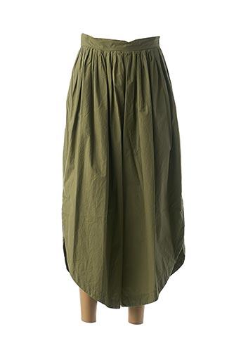 Pantalon 7/8 vert B.YU pour femme