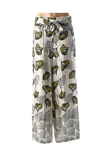Pantalon casual beige B.YU pour femme