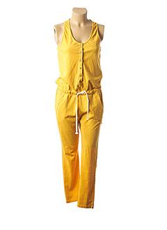 Combi-pantalon jaune FRENCH TERRY 1818 pour femme
