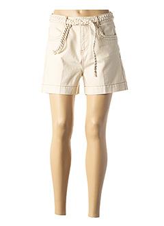 Short beige LAB(DIP) pour homme