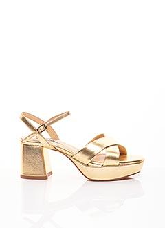 Sandales/Nu pieds jaune BIBI LOU pour femme