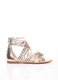 Sandales/Nu pieds jaune FRU.IT pour femme