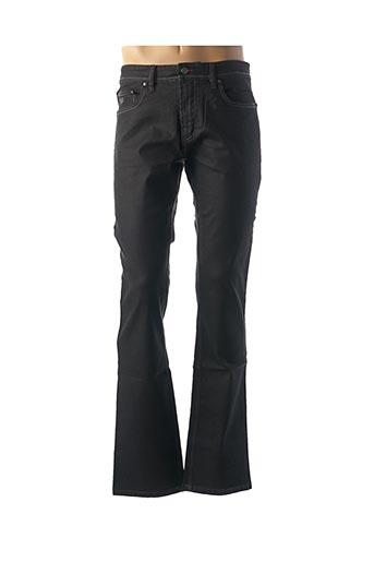 Jeans coupe droite noir GS CLUB pour homme