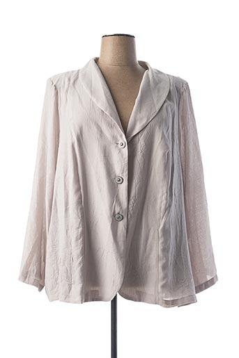 Veste casual gris IMPULSION pour femme