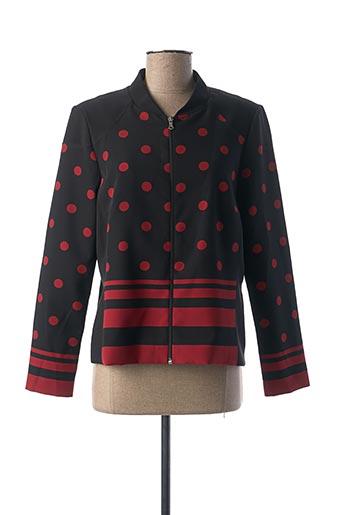 Veste casual noir JEAN DELFIN pour femme