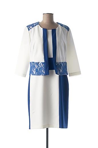Veste/robe bleu DIVAS pour femme