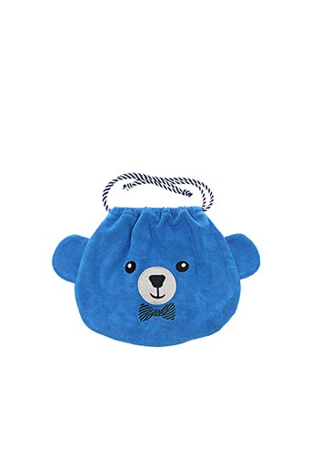 Pochette bleu MILK ON THE ROCKS pour enfant