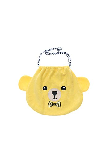 Pochette jaune MILK ON THE ROCKS pour enfant