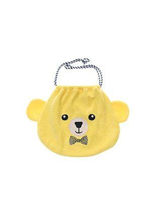 Pochette jaune MILK ON THE ROCKS pour enfant