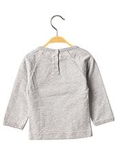 T-shirt manches longues gris MILK ON THE ROCKS pour enfant seconde vue