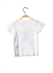 T-shirt manches courtes blanc MILK ON THE ROCKS pour fille seconde vue