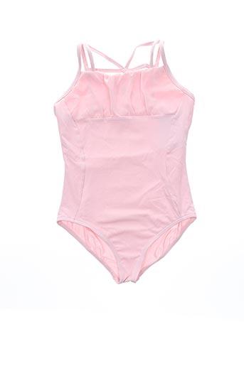 Body rose CAPEZIO pour fille
