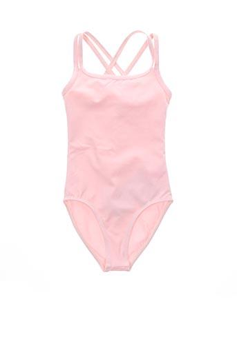 Body rose SANSHA pour fille