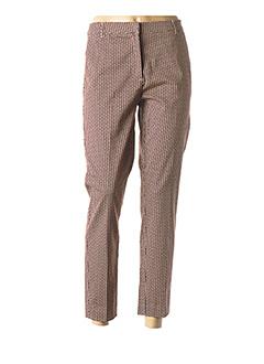 Pantalon 7/8 rouge B.YOUNG pour femme