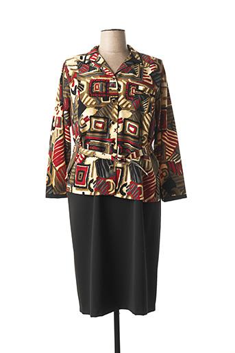 Veste/robe noir FRANCE RIVOIRE pour femme