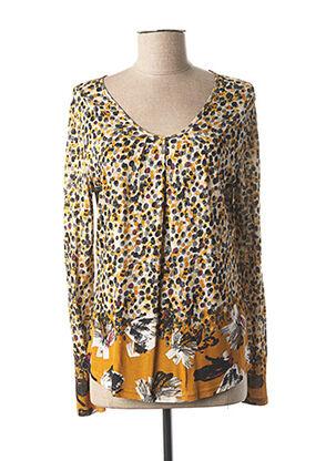 T-shirt manches longues jaune GERRY WEBER pour femme