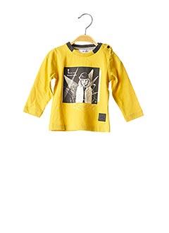 T-shirt manches longues jaune MARESE pour enfant