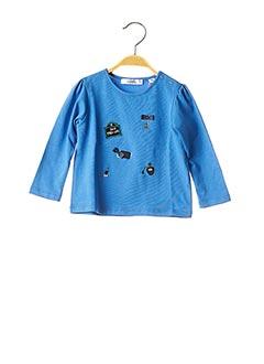 T-shirt manches longues bleu MARESE pour fille