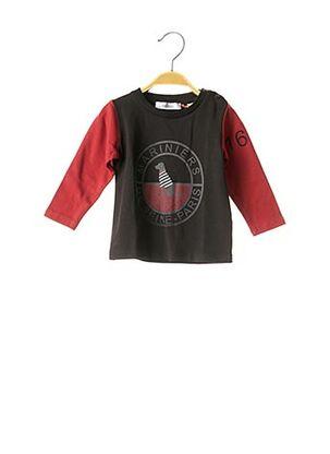T-shirt manches longues noir MARESE pour enfant