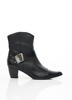 Bottines/Boots noir MADISON pour femme