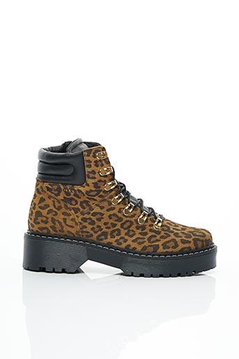 Bottines/Boots marron BULLBOXER pour femme