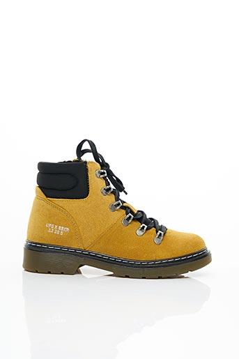 Bottines/Boots jaune BULLBOXER pour femme