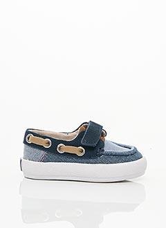 Chaussures bâteau bleu GIOSEPPO pour garçon