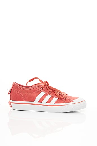 Baskets orange ADIDAS pour enfant