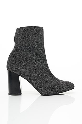 Bottines/Boots noir BULLBOXER pour femme