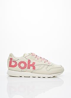 Baskets beige REEBOK pour femme