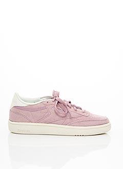 Baskets violet REEBOK pour femme