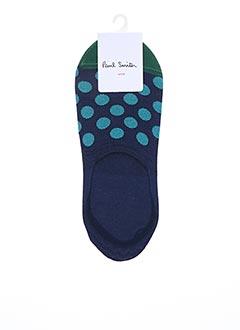 Chaussettes bleu PAUL SMITH pour homme