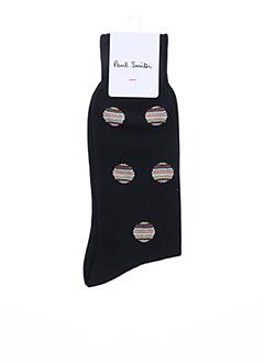 Chaussettes noir PAUL SMITH pour homme