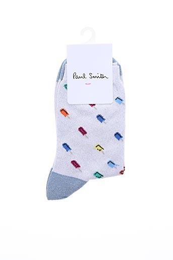 Chaussettes gris PAUL SMITH pour femme