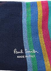 Chaussettes bleu PAUL SMITH pour homme seconde vue