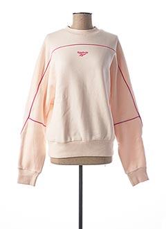 Sweat-shirt rose REEBOK pour femme