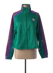 Veste casual vert ADIDAS pour femme seconde vue