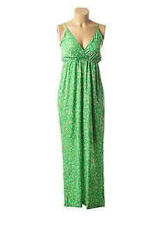 Combi-pantalon vert GOLD&SILVER PARIS pour femme