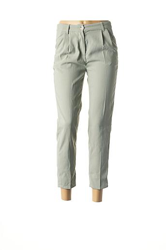 Pantalon casual vert ARTLOVE pour femme