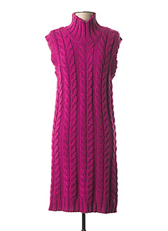 Robe pull violet GALLIANO pour femme