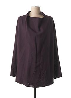 Tunique manches longues violet GALLIANO pour femme