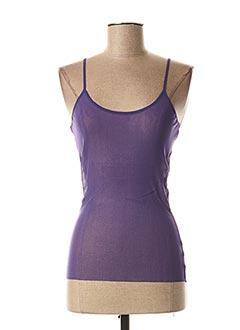 Top violet KENZO pour femme