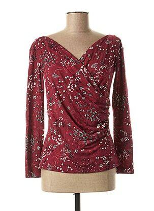 T-shirt manches longues rouge MAXMARA pour femme