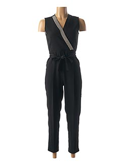 Combi-pantalon noir MARELLA pour femme