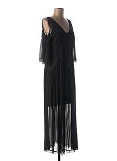 Robe longue noir TWINSET pour femme
