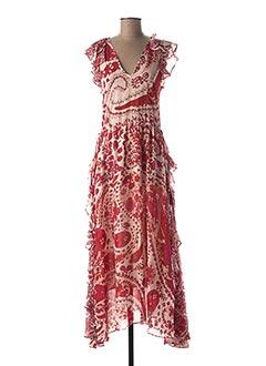 Robe longue rouge TWINSET pour femme