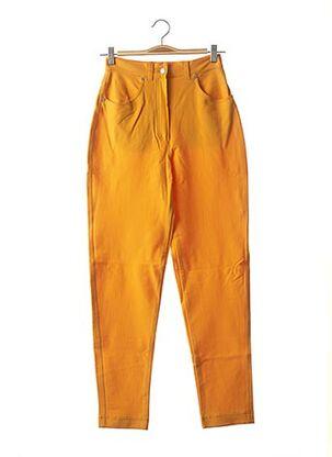 Pantalon casual jaune MAXMARA pour femme